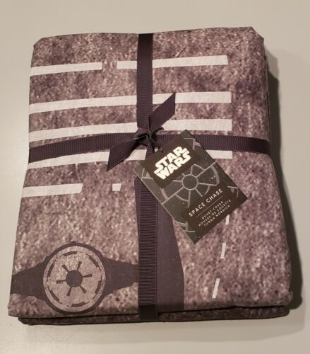 Pottery Barn Teen Star Wars Space Chase Duvet Cover Full Queen