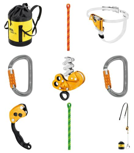 PETZL ZIGZAG PLUS Arborist Gear composable Tree Climbing Kit