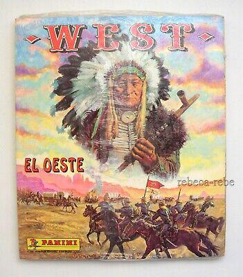 Álbum de cromos WEST El Oeste PANINI + Fort Apache