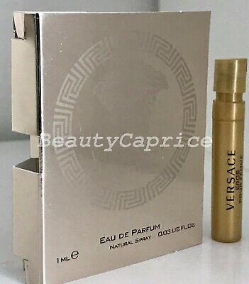 1 Sample x1ml Versace Eros Pour Femme Eau de Parfum Spray Vial Free P&P