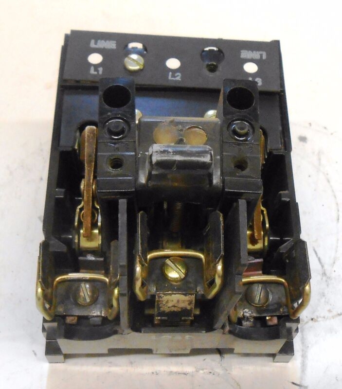 GENERAL ELECTRIC QMR SWITCH, THMS32, 60 AMPS, 3 POLES