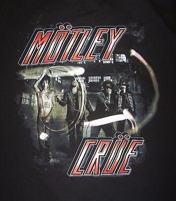 Motley Crue The Tour 2012 Adult Concert T-shirt, Size L, EUC