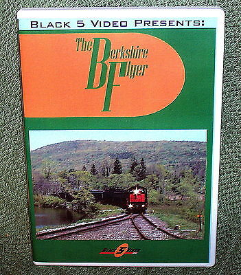 "b003 TRAIN VIDEO DVD ""THE BERKSHIRE SCENIC RAILROAD"" NEW ENGLAND"