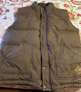 """Mans North Face """"duck down"""" puffer vest"""