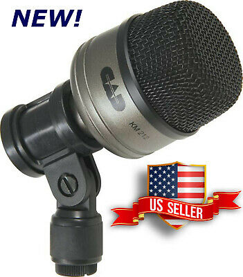 Bass Drum Mic Microphone+Mounting Clip For Kick Drums Studio+Live KM212 CAD PRO - Bass Microphone