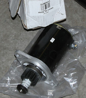 ARROWHEAD ELECTRICAL PRODUCTS STARTER MOTOR SAB0033 ONAN