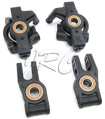HoBao 1/8 Hyper 7 SS - HUBS & SPINDLES (Front & Rear, axle bearings) 90006 OFNA
