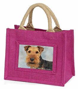 Terrier Galés 'Love You Abuela' Niñas Pequeño Rosa Compras, ad-wt1lygbmp