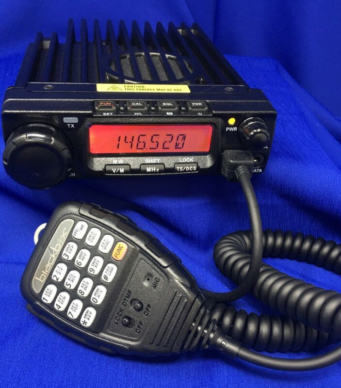 Blackbox VHF Mobile Business Band / Ham Radio / Off Road w/ Antenna,Mount,Cable