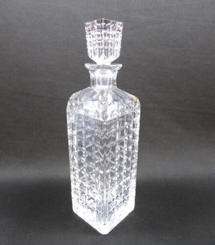 Elegant Antique Kosta Boda Crystal Decanter