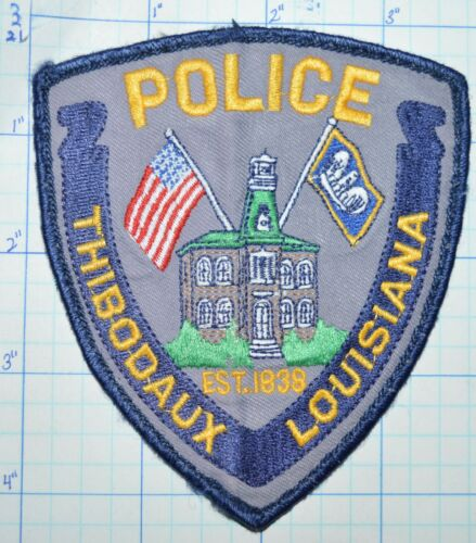 LOUISIANA, THIBODAUX POLICE DEPT VINTAGE PATCH