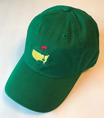 Masters green golf hat caddy style new augusta national pga (Caddy Hat)