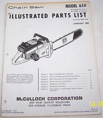 Mcculloch Engine - 2 - Trainers4Me