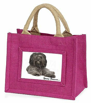 Tibetan Terrier 'Yours Forever'  Little Girls Small Pink Shopping Ba, AD-TT2yBMP