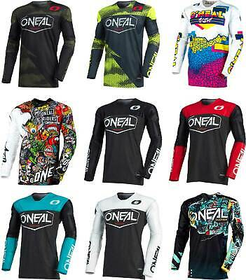 O/'Neal Mayhem Reseda MOTO CROSS JERSEY MTB MX Mountain Bike Jersey Downhill FR