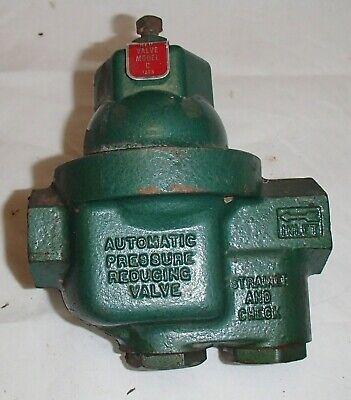 Automatic Pressure Reducing Valve Red Valve Model C Oil Boiler Burner Furnace