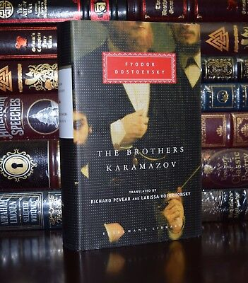 Brothers Karamazov by Fyodor Dostoevsky New Hardcover Deluxe Collectible Classic