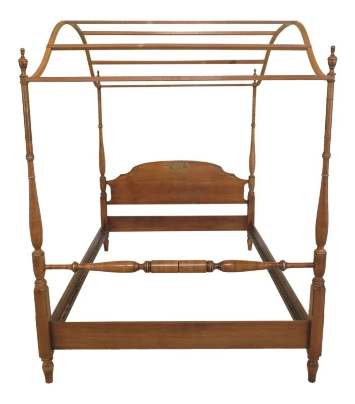 F48160EC: HITCHCOCK Full Or Double Size Poster Bed