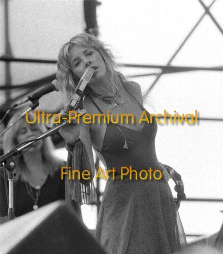 Fleetwood Mac STEVIE NICKS Philly JFK 1978 ** Hi-Res Pro Archival Photo (8.5x11)