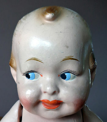 1917 Rosy-Posy  Kewpie doll - Composition - Elektra Toy & Novelty Company