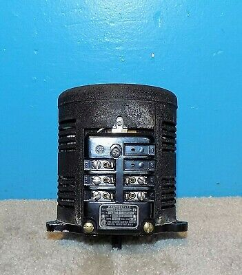 Superior Powerstat S12043 Variac 0-135vac 7.5 Amps Free Shipping