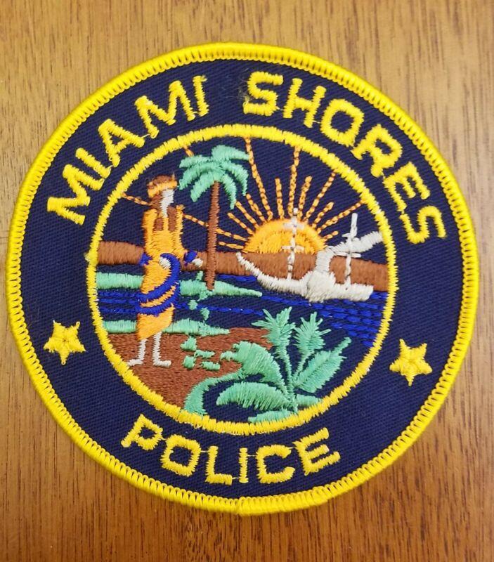 Miami Shores Police Patch Collectible