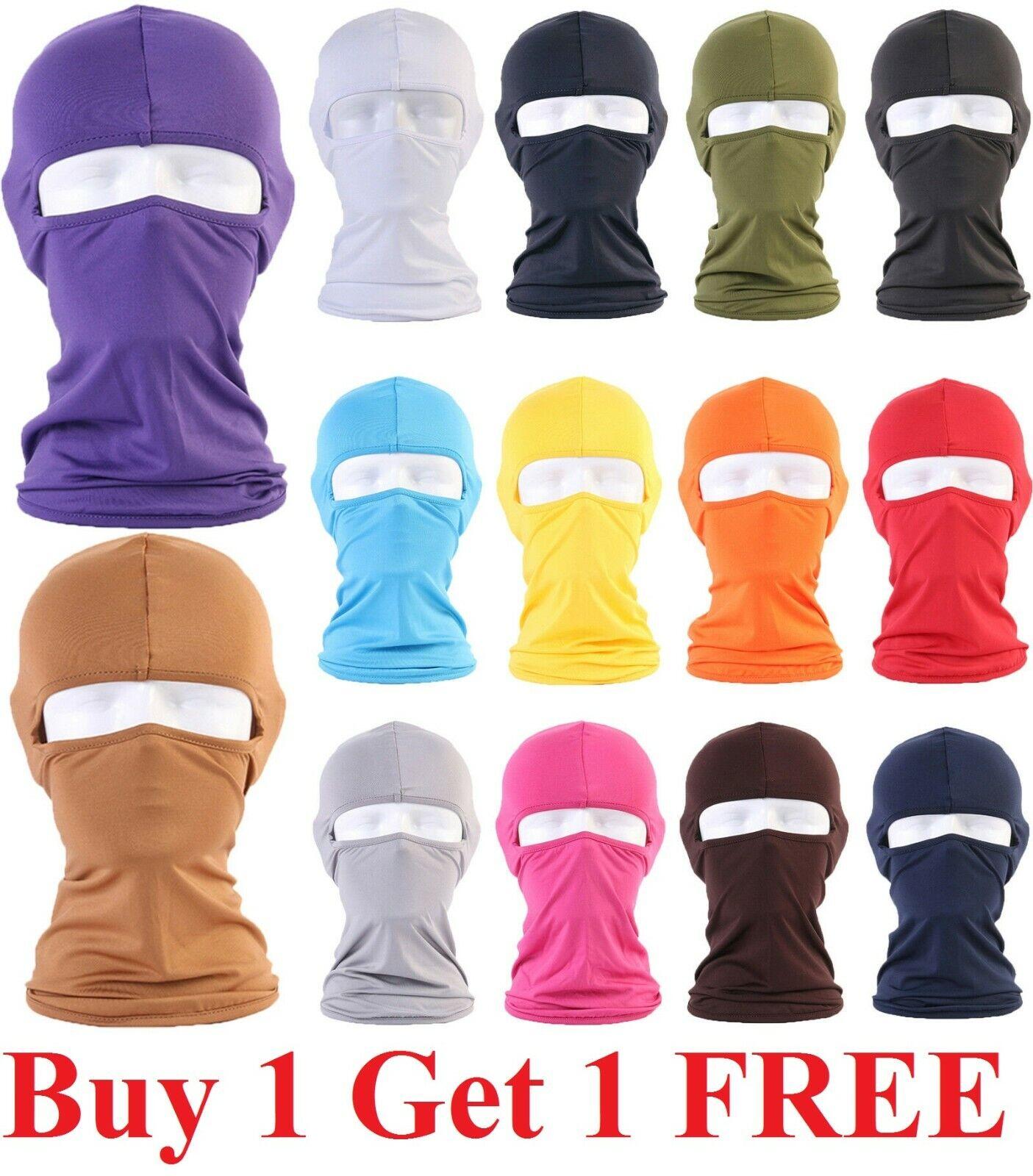 Face Mask Sun Shield Neck Gaiter Bike Balaclava Neckerchief Bandana Headband Clothing, Shoes & Accessories