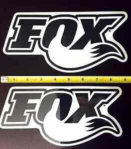 Fox Racing Shox Decals 2 New 9