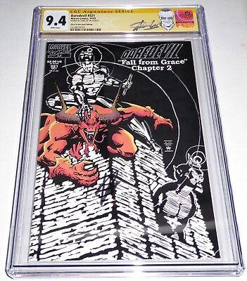 Daredevil #321 CGC SS 9.4 Signature Autograph STAN LEE Glow in the Dark Edition