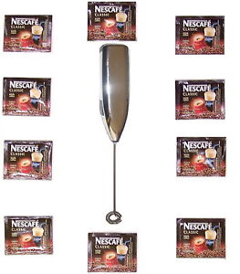GREEK-FRAPPE-COFFEE-MIXER-FROTHER-10-SACHETS-NESCAFE