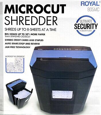 Royal Microcut Paper Shredder -  Heavy Duty