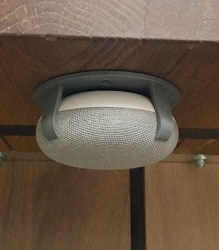 SturdyGrip™ Google Home Mini Mount & Nest Mini (Gray/Chalk)