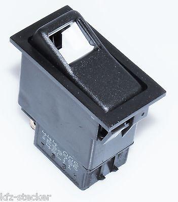 Schalter Kfz Lkw 12V Wippenschalter Wippschalter ENG 444006 Einbau mit Glühlampe