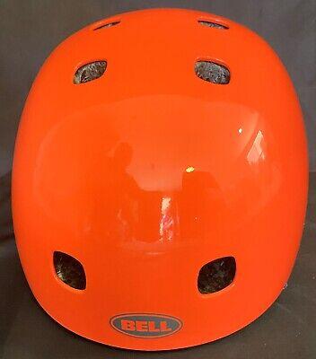 Bell Segment Jr Orange Multi-Sport Helmet Skateboarding Youth X-Small