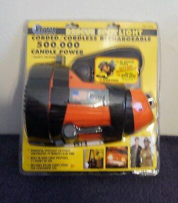 Candlepower Corded Spotlight - Vector Rescue Spotlight Corded/Cordless Rechargeable 500,000 Candle Power