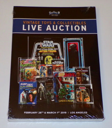 SEALED Prop Store 2019 VINTAGE TOYS & COLLECTIBLES Los Angeles AUCTION CATALOG