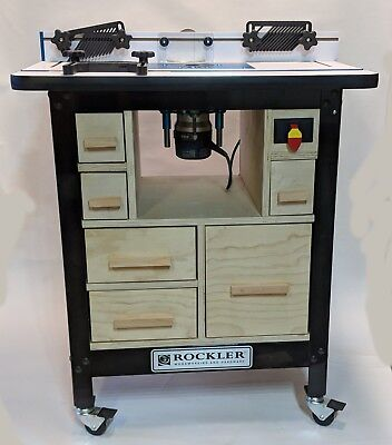 How to Woodworking Plans Build - Trick Out your Rockler Router Table 14 pages
