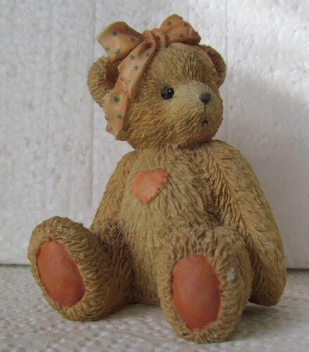 Cherished Teddies KAREN Best Buddy Bear Figurine 950432 (1991)