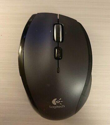 Logitech Marathon M705 Wireless Laser Mouse - Silver/Black (810-0019212)