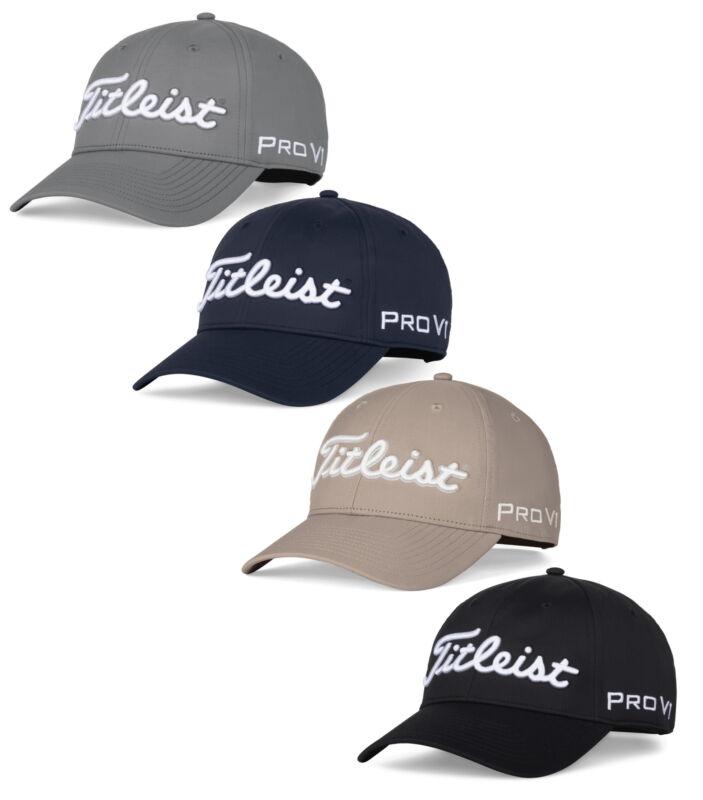 Titleist Tour Performance Hat Mens Adjustble Golf Cap - New 2021 - Pick a Color