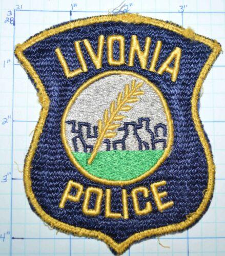 MICHIGAN, LIVONIA POLICE DEPT VINTAGE PATCH