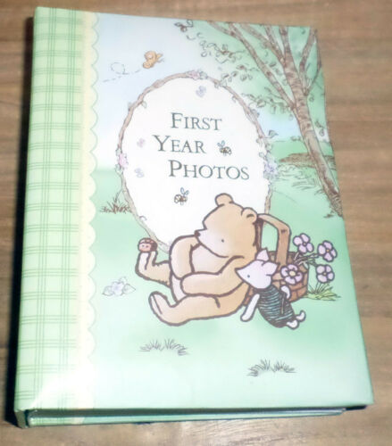 Rare Classic Pooh Photo Album - FIRST YEAR PHOTOS - Brag Book By Disney NWOT