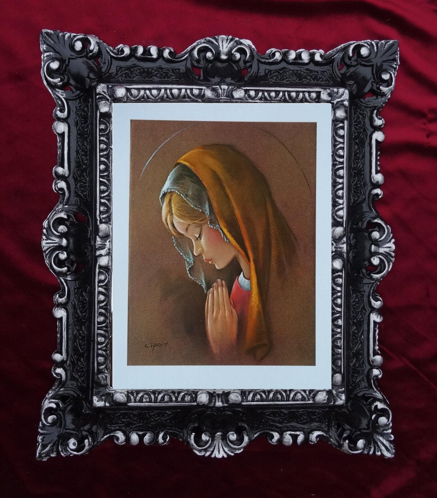 Maria Heilige Maria Mutter Gottes Gemälde Heiligenbild mit Antik ...