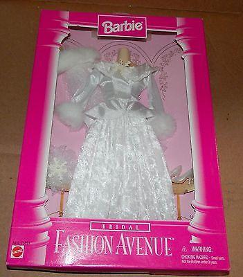 Barbie Doll Real Clothes Bridal Mattel 15897 NIB 1997 Fashion Avenue 75R