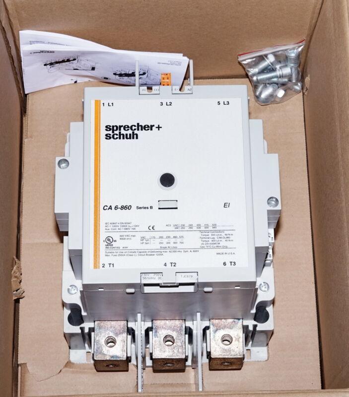 Sprecher Schuh CA6-860-EI-11-240W 860A EI Contactor Series:B