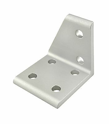 8020 Inc T-slot Aluminum 6 Hole Right Inside Bracket 10 Series 4121 N