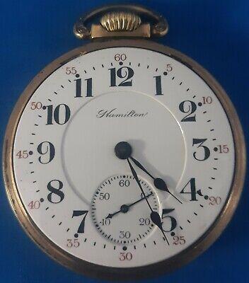 Hamilton Grade 992, Size16 Railroad Pocket Watch.FREE PRIORITY SHIPPING.