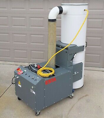 Esta Dustomat-67 Mobile Dust Collection System Pulse Jet Anti-static Filters