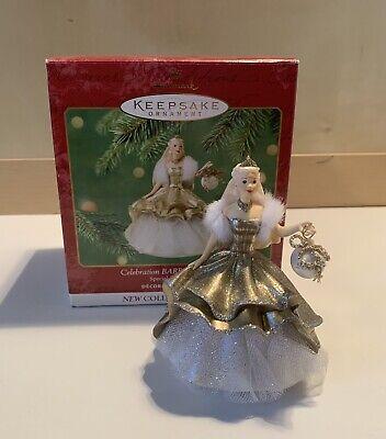 Hallmark CELEBRATION BARBIE 2000 Keepsake Holiday Ornament
