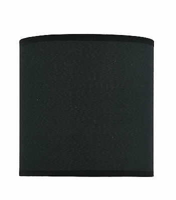 Aspen Creative 31009 Hardback Empire Spider Lamp Shade Black